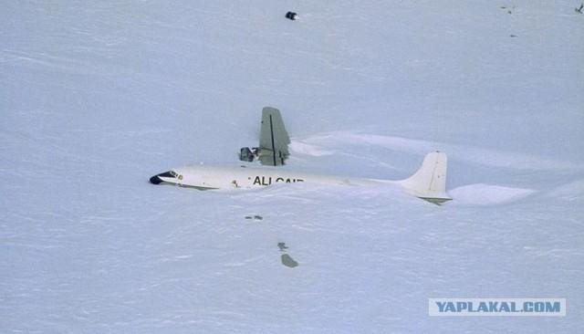 Ледяной аэропорт, Антарктида