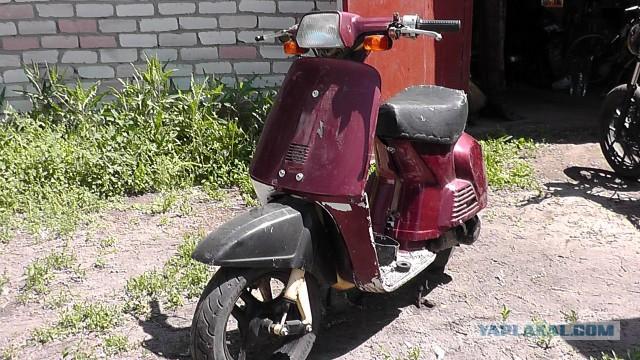 Редкий ретро скутер Honda AB-07 Fullmark