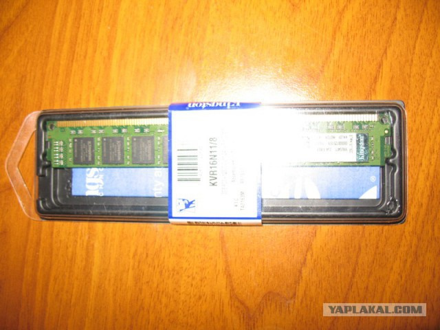 Kingston DDR3 8GB 12800 1600MHz 1 планка