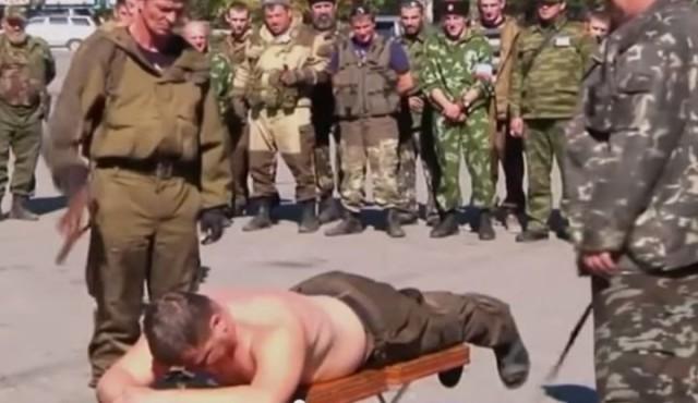 Казаков, избивших участников акции 5 мая, наказали нагайками другие казаки