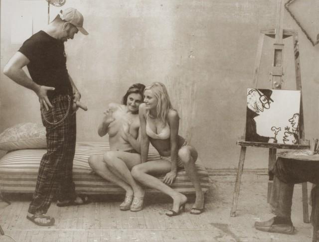 «Художник и модель» экспериментальная серия русского фотографа