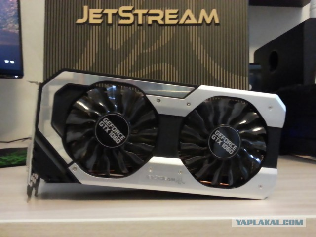 Продаю Palit Jetstream Geforce gtx 1060 6gb
