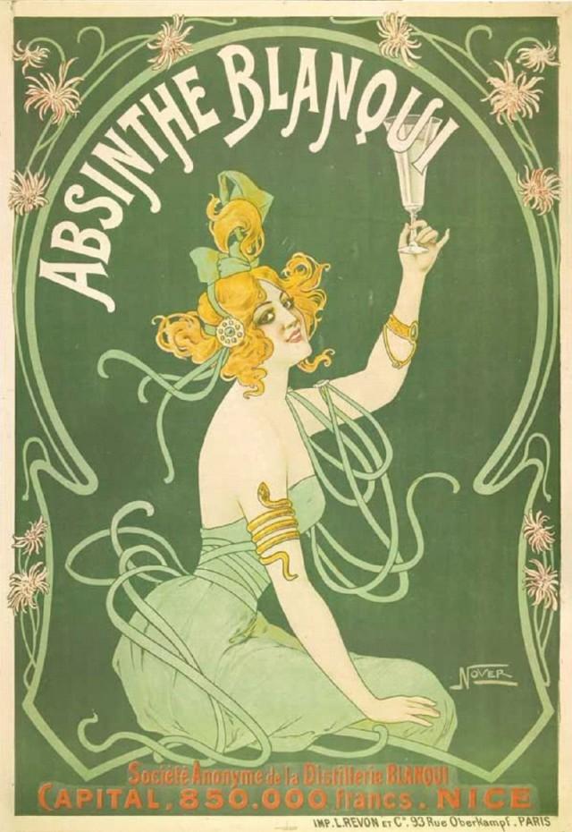 """История абсента: """"зелёная фея"""" или """"зелёная ведьма""""?"""