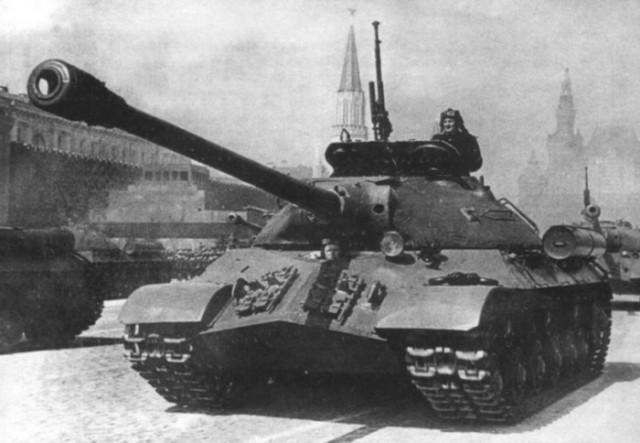 Боевое применение тяжелых танков ИС-3