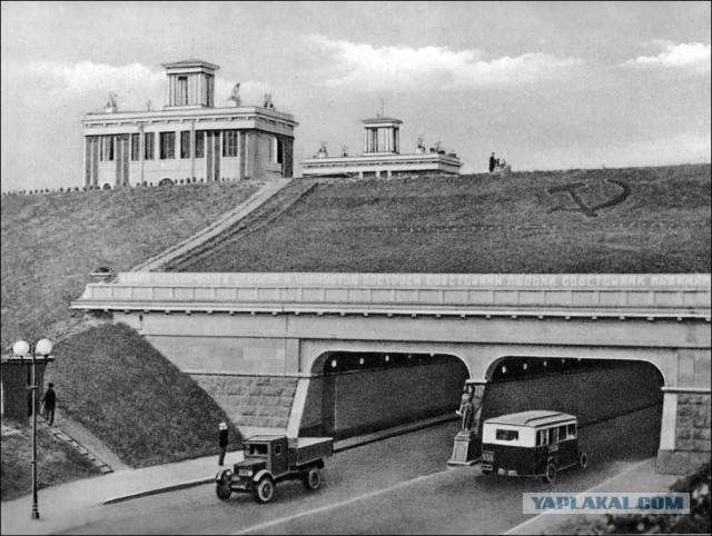 Тушинский тоннель под Каналом имени Москвы: как он менялся за 80 лет