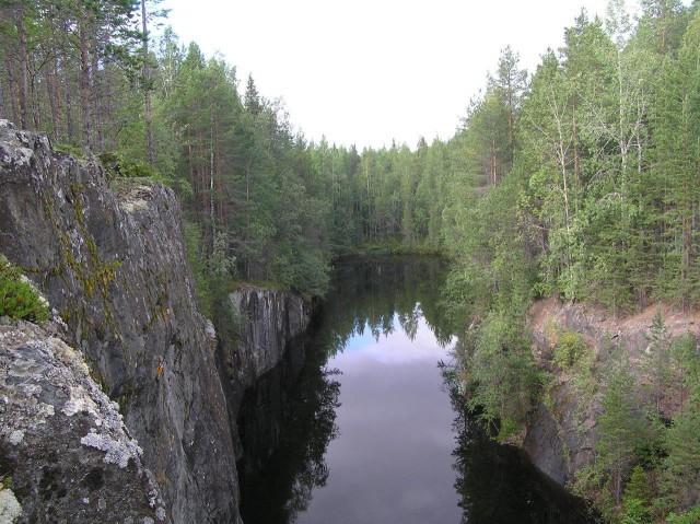 Карелия. р Кереть