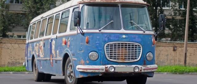 На случай зомби-апокалипсиса: тест-драйв автобуса Skoda 706 RTO