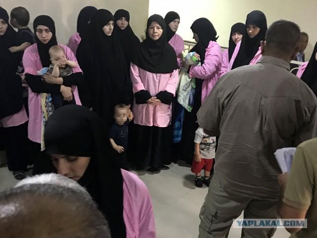 В Ираке 19 россиянок получили пожизненные сроки за участие в ИГ*