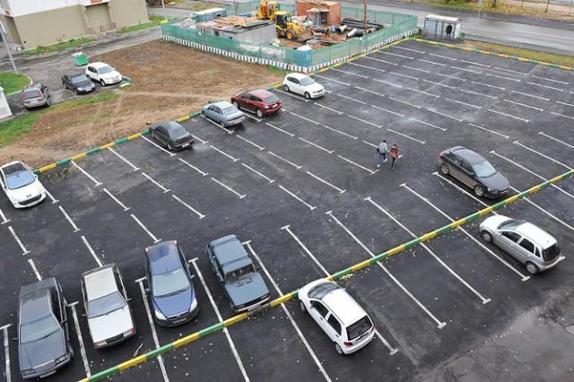 Платные парковки во дворах! Скоро...