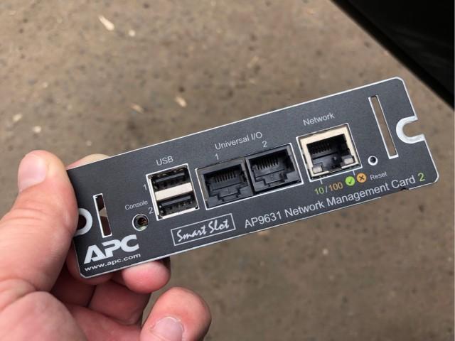 Есть ИБП APC Smart-UPS? Заходи в тему.