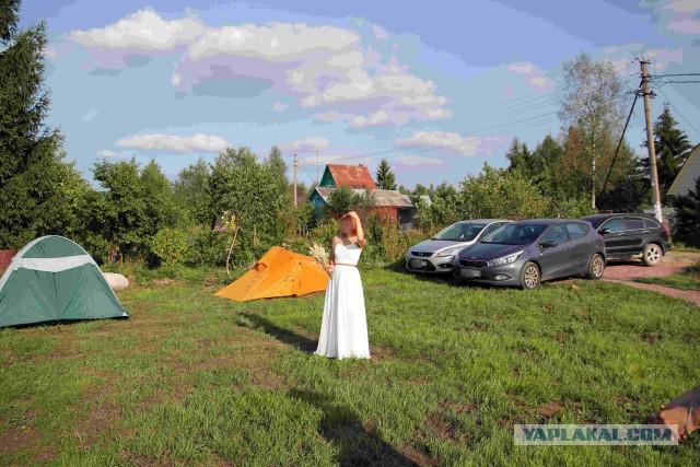 Как мы дачу для свадьбы строили