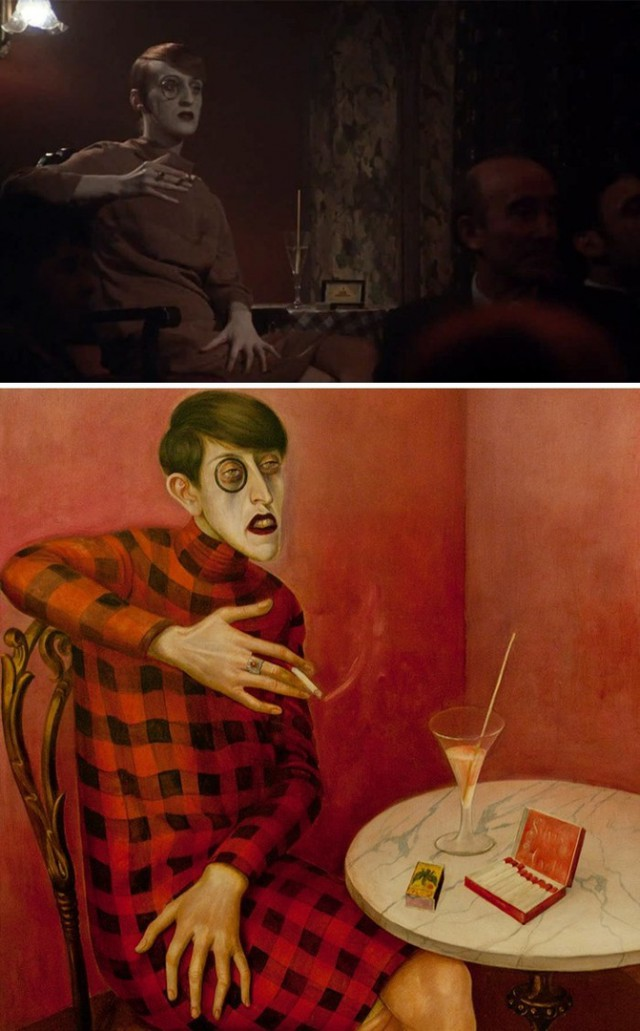 10 кинокадров, повторивших картины известных художников.