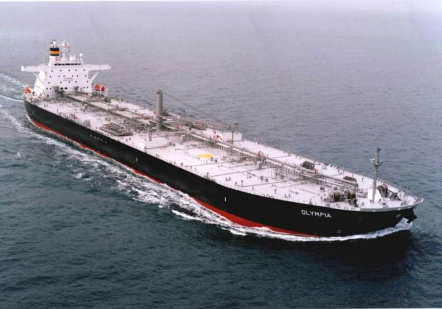 Машинное отделение танкера