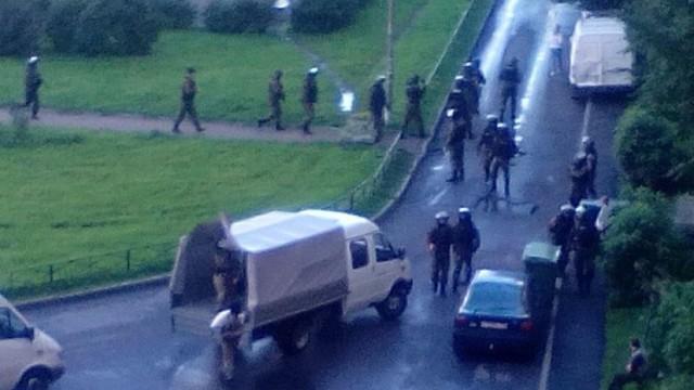 Спецоперация по задержанию боевиков в Петербурге