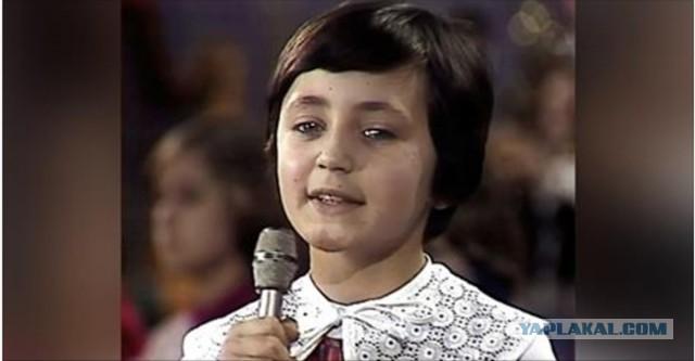 Лена Могучева, которая пела в Большом детском хоре…