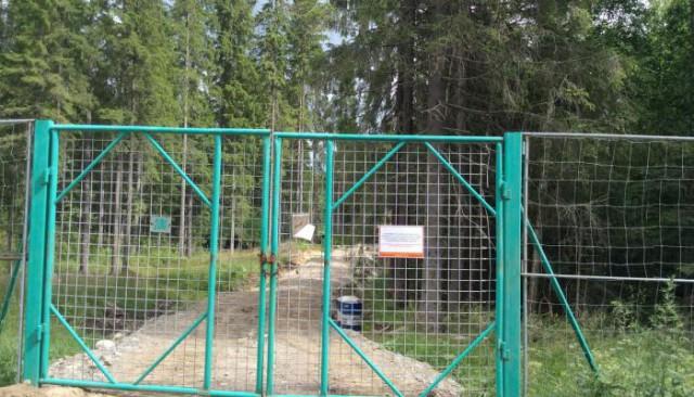 Карельские леса отгораживают от населения