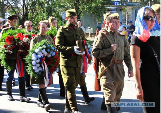 В Чехии с почестями захоронены останки советских летчиков