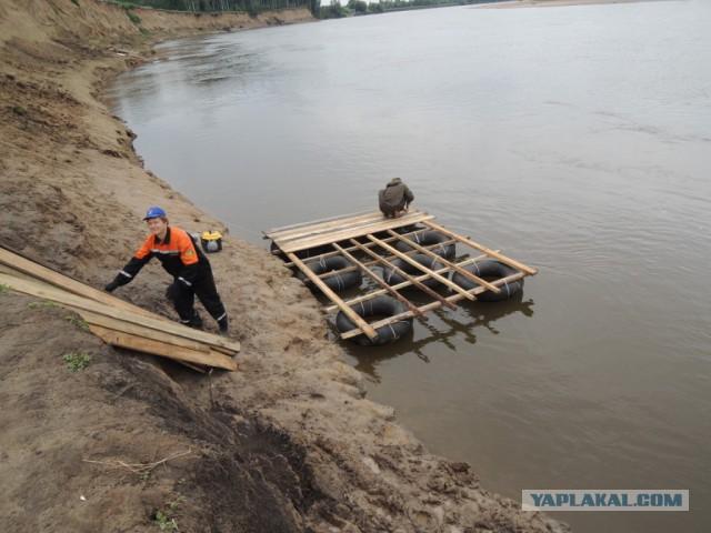 Сплав по реке Чулым