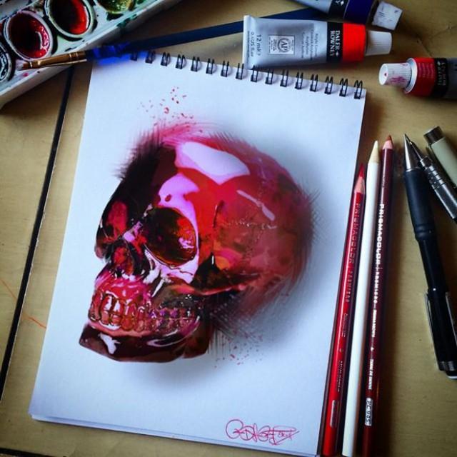 Потрясающие рисунки карандашами художника-самоучки