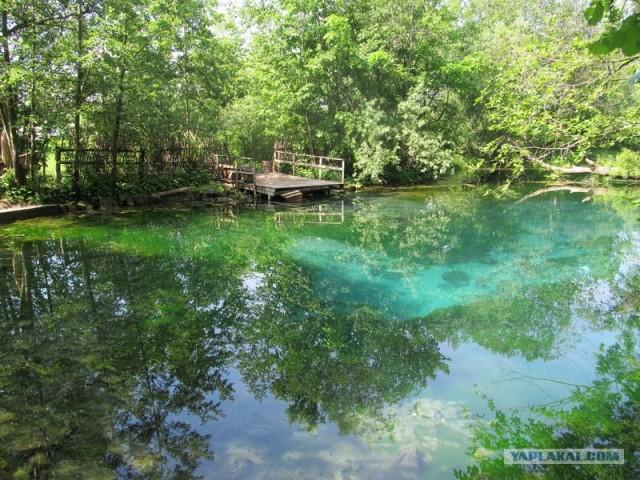 Голубое озеро под Казанью