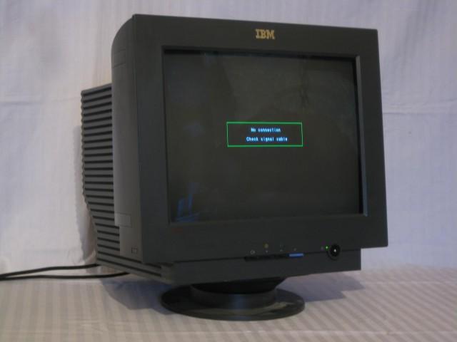 Теплый, ламповый монитор IBM 17D Продам