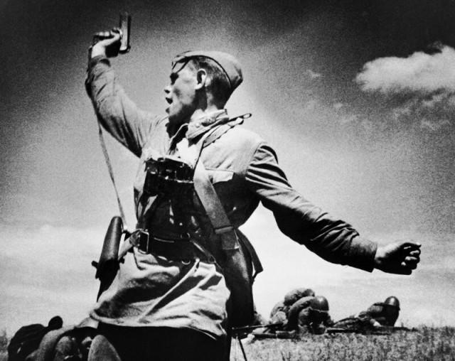Фронт и тыл Великой Отечественной на редких снимках.