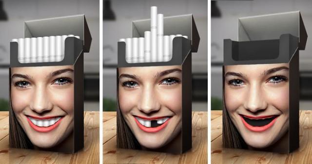 Пачка сигарет, дизайн которой заставит задуматься о том, нужно ли вам курение