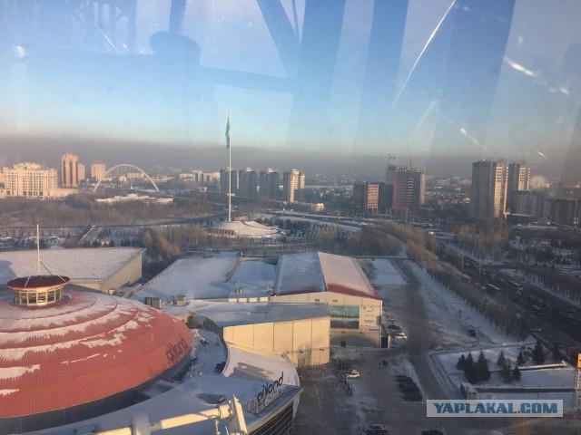 Астана в декабре. Командировка