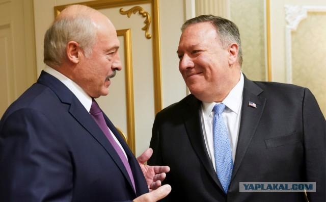 Помпео заявил о готовности США обеспечить Белоруссию нефтью «на 100%