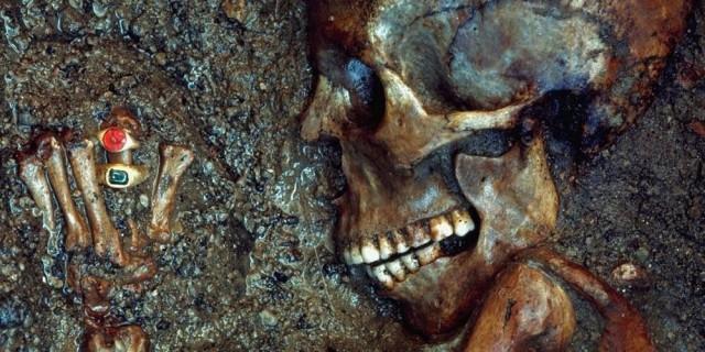 """""""Леди Колец"""" из Геркуланума. Мумии и скелеты.10."""