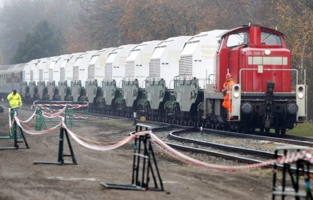 «Экозащита»: Германия вновь отправила в Россию поезд с радиоактивными отходами