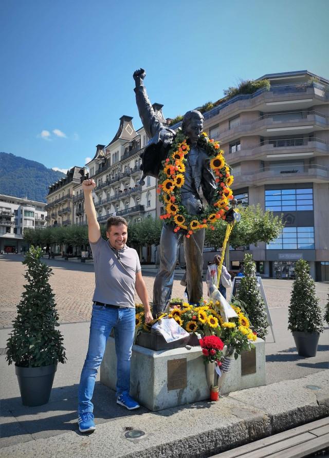 Как я на день рождения Фредди Меркьюри в Монтрё летал (и порвал его куртку!)