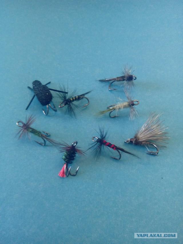 Мушки для рыбалки.