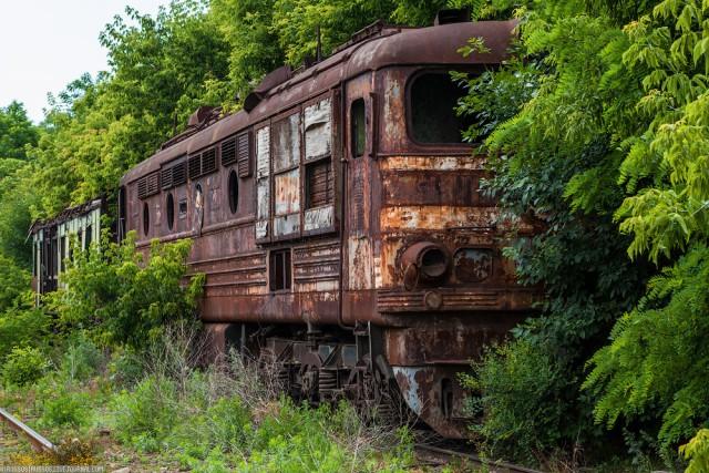 Забытый поезд