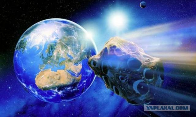 К Земле летит платиновый астероид