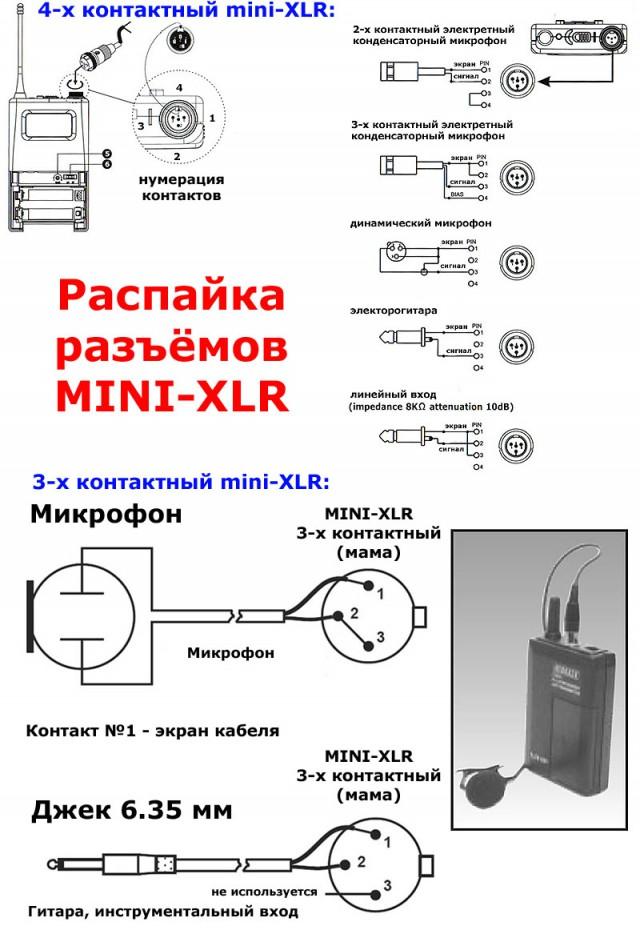 Black mini xlr 4pin ta4f 3 pin connector condenser lapel lavalier tie clip microphone for shure wireless bodypack