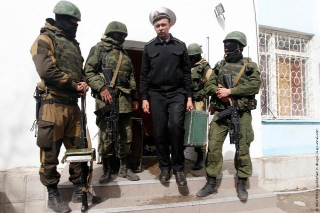 Штаб ВМС Украины в Севастополе захвачен