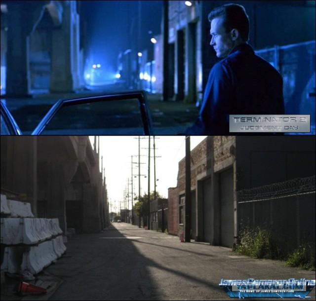 Места со съёмок фильма «Терминатор 2: Судный день». Тогда и сейчас, разница в 25 лет