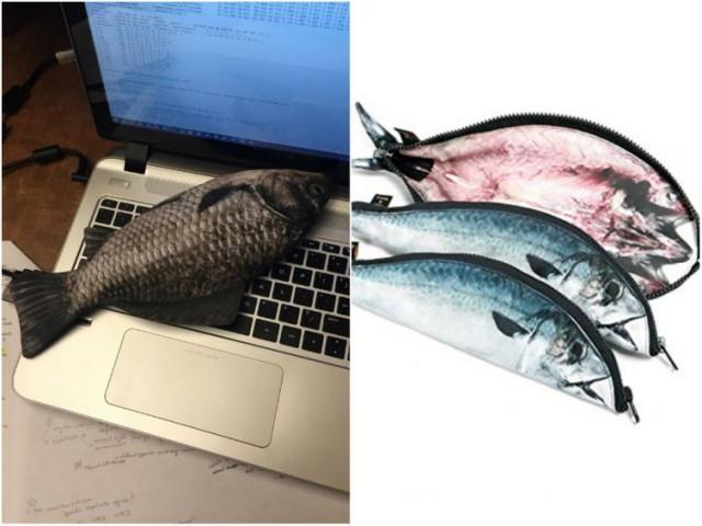 Рыба-пенал и ещё 17 обманчивых подарков, которые помогут разыграть ваших друзей
