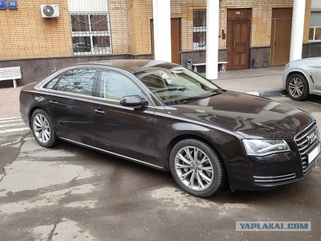 Продам AUDI A8 Long в Москве