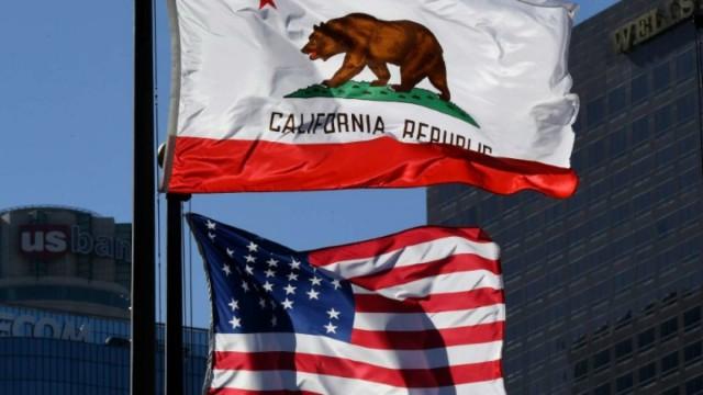 Калифорния перед стартом кампании за выход из состава США
