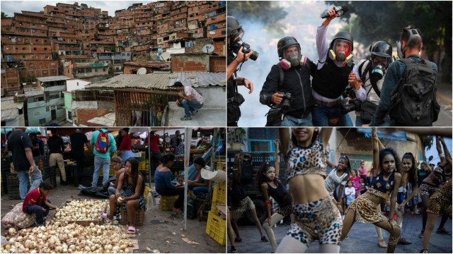 Что там сейчас в Венесуэле? Свежие кадры быта оттуда