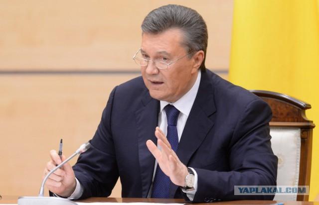 Янукович хочет вернуться на родину как президент