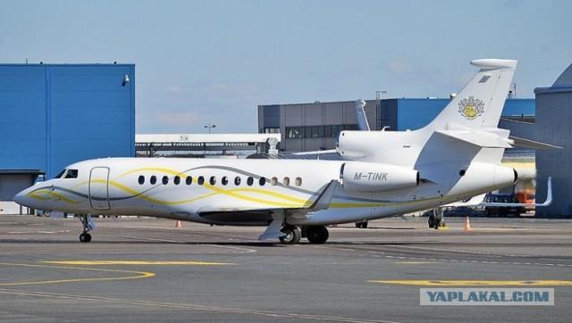 Российские миллиардеры вынуждены продавать свои самолеты