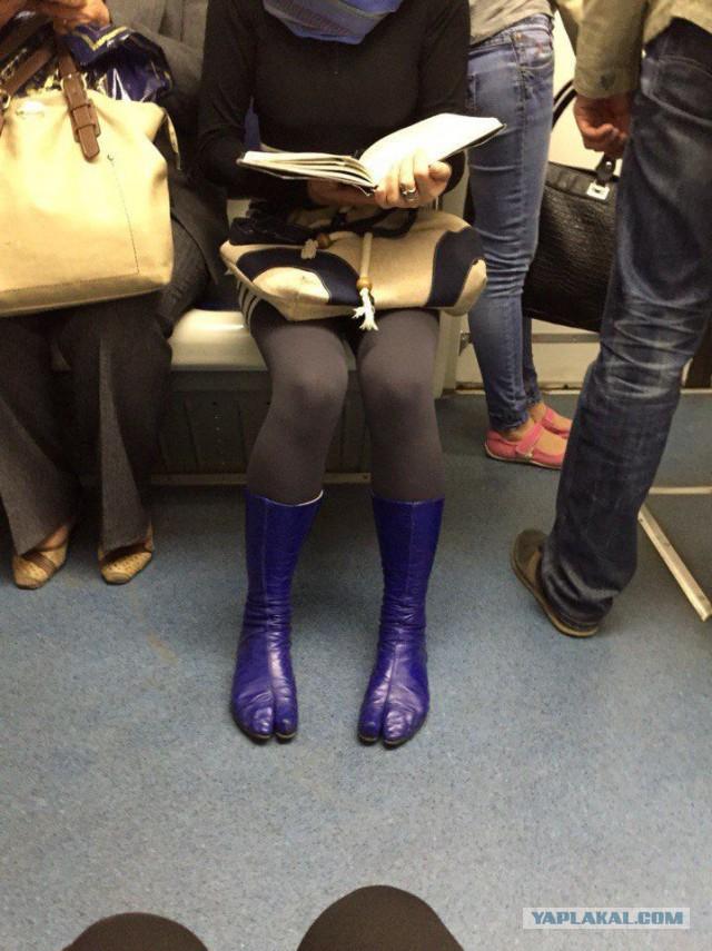 Фотографии одежды из московского метро