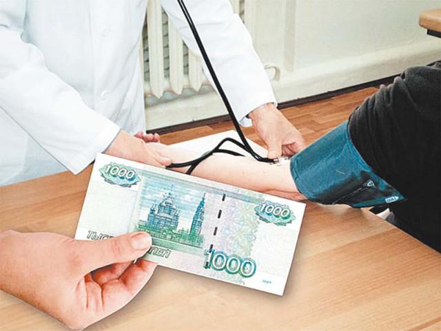 Россиян готовят к платной медицине.