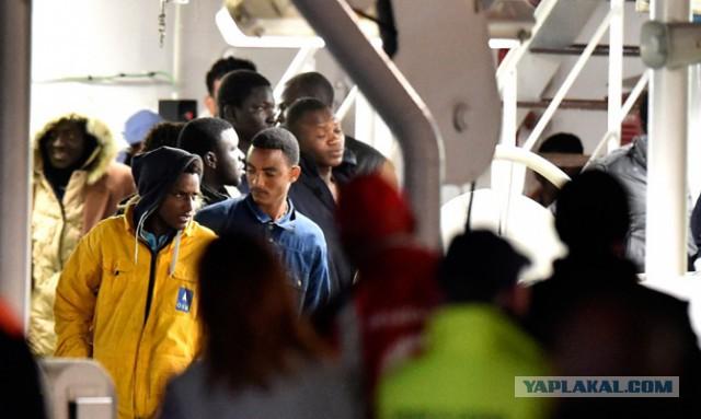 Германский  политик призвала стрелять по мигрантам