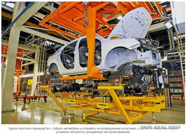 Lada Vesta: седлаем прототип!