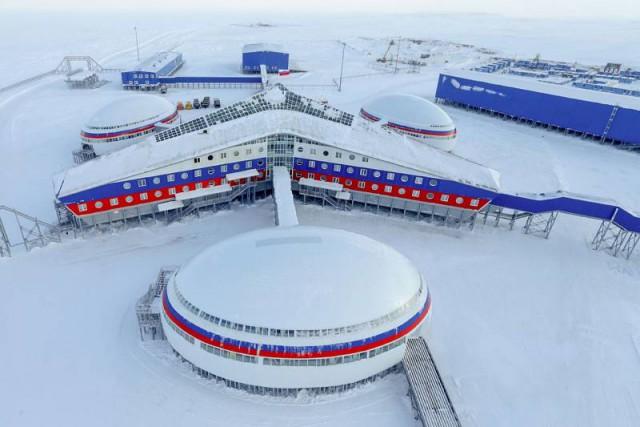 Арктика. Самая северная база ПВО РФ «Арктический трилистник» достигла полной автономности