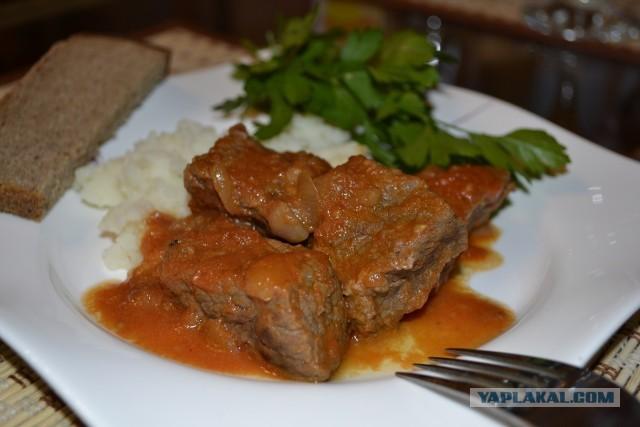 блюда из говядины пошаговый рецепт с фото